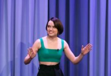 "Daisy Ridley – "" The Tonight Show Starring Jimmy Fallon"" in New York"