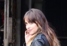 "Dakota Johnson – Filming ""Covers"" in Los Angeles"