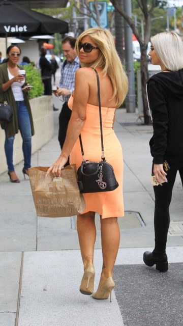 Donna D'Errico – Out in Beverly Hills