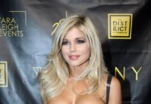 """Donna D'Errico – """"Skinny"""" Cannabis Vape Product Launch in West Hollywood"""