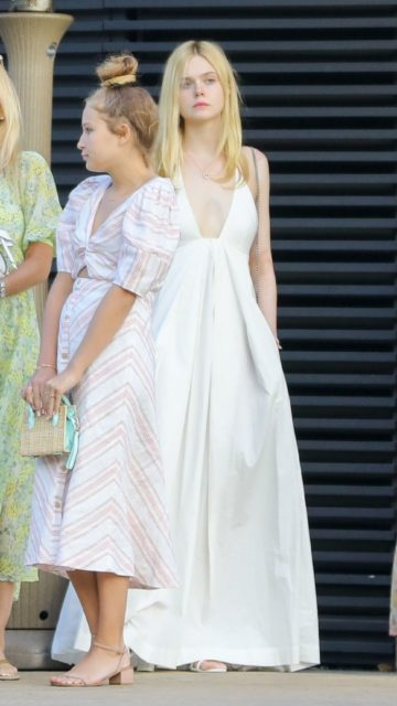 Elle Fanning Summer Style – Out in Malibu