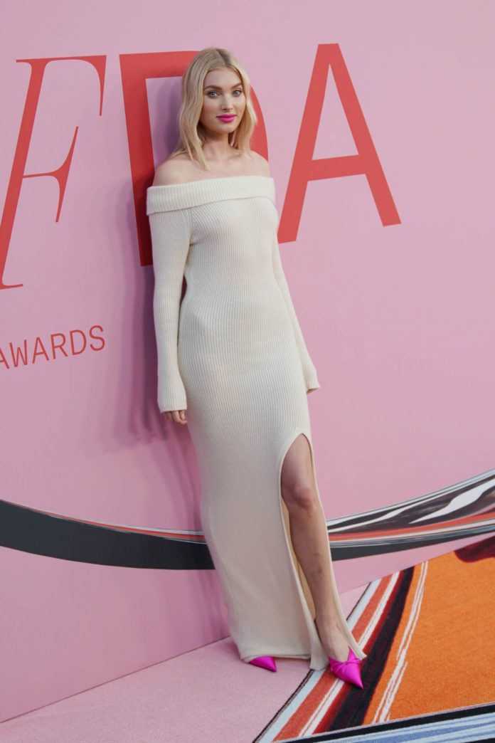 Elsa Hosk – 2019 CFDA Fashion Awards in NYC