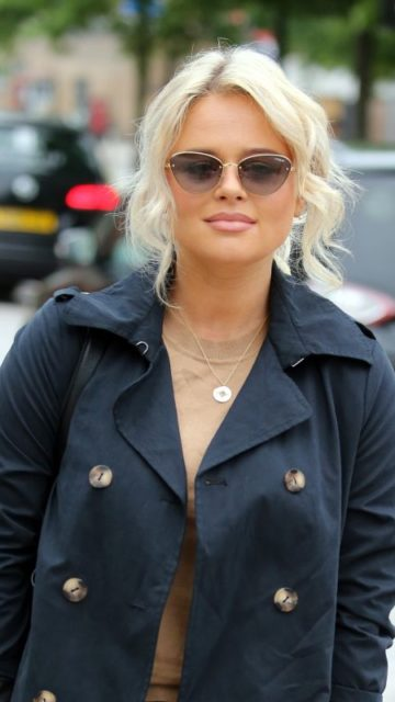 Emily Atack – Outside ITV Studios in London