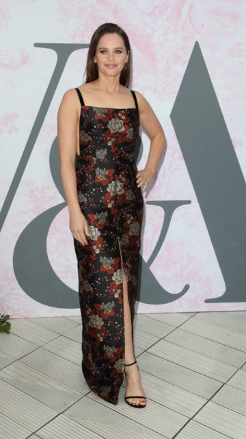 Felicity Jones – V&A Summer Party in London