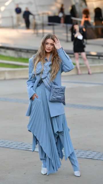 Gigi Hadid – Arriving at the CFDA Fashion Awards in NYC