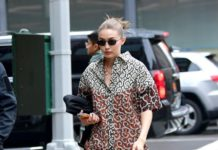 Gigi Hadid – Shows Her Sense of Style in New York