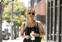 Halle Berry in Casual Outfit