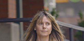 Heidi Klum Make-up Free – Out in NYC