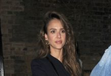 Jessica Alba – Leaving Chiltern Firehouse in London