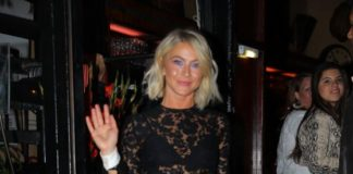 Julianne Hough Night Out Style