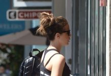 Kate Beckinsale – Heading to the Gym in LA