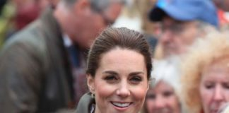 Kate Middleton – Keswick Market Place at Cumbria in Keswick