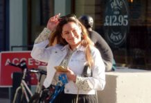 Kelly Brook – Out in London