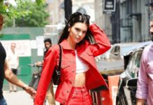 Kendall Jenner in Red – SoHo, NYC