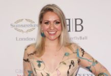 Larissa Eddie – Caudwell Children Butterfly Ball Charity Event in London