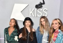 Little Mix at Kiss FM Studio's in London