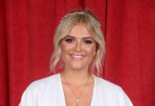 Lucy Fallon – British Soap Awards 2019