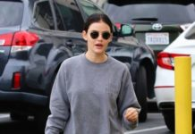 Lucy Hale at a Dentists Office in Toluca Lake