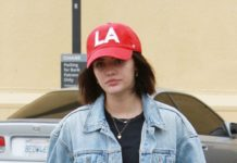 Lucy Hale Casual Style – Studio City