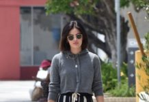 Lucy Hale – Running Errands in Studio City