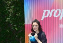 Lucy Hale – Trains for the Propel Co Labs Fitness Festival in West Hollywood