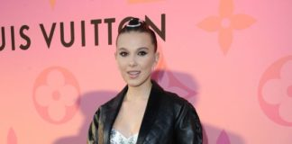 Millie Bobby Brown – Louis Vuitton X Opening Cocktail Party in Beverly Hills