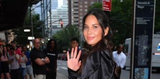 Olivia Munn – Outside Late Night With Seth Meyers