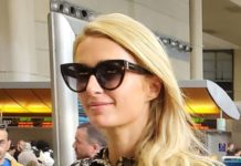 Paris Hilton Catch a Flight for Europe – LAX in LA