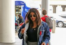 Priyanka Chopra in Travel Outfit – LAX Airport