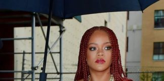 """Rihanna – Arriving to Appear on """"Late Night with Seth Meyers"""" in New York"""