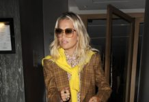 Rita Ora – Leaving Music Bank Studios in London