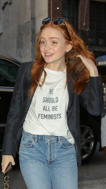 Sadie Sink Street Style – Out in NYC