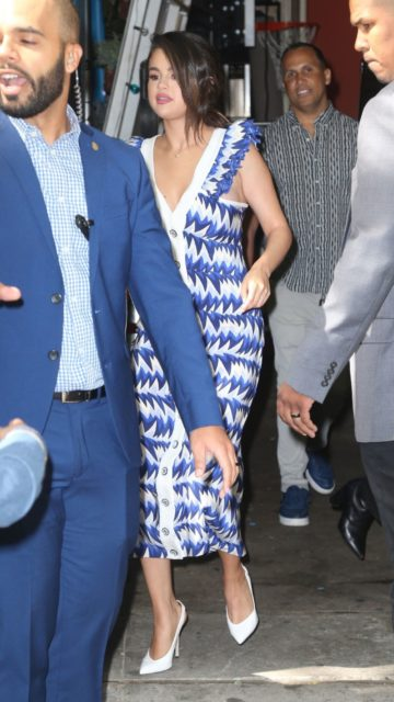 """Selena Gomez – """"Live with Kelly & Ryan"""" in NYC"""