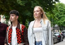 Sophie Turner and Joe Jonas – Leaving Celine Boutique in Paris