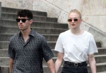 Sophie Turner and Joe Jonas – Out in Paris