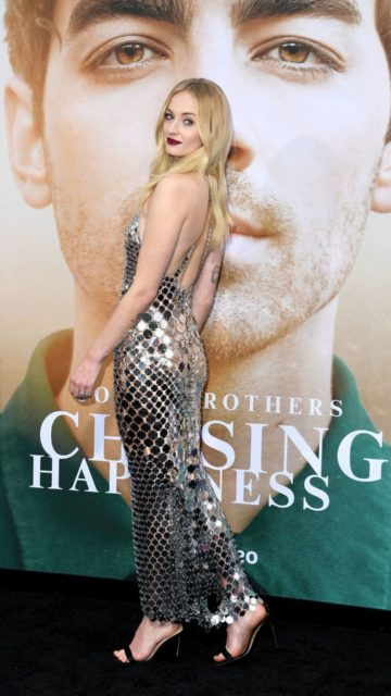 """Sophie Turner – """"Chasing Happiness"""" Premiere in LA"""