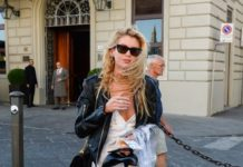 Stella Maxwell – Out in Florence
