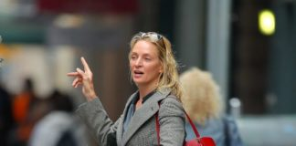 Uma Thurman – Out in New York City