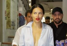 Adriana Lima – Out in Mykonos Town