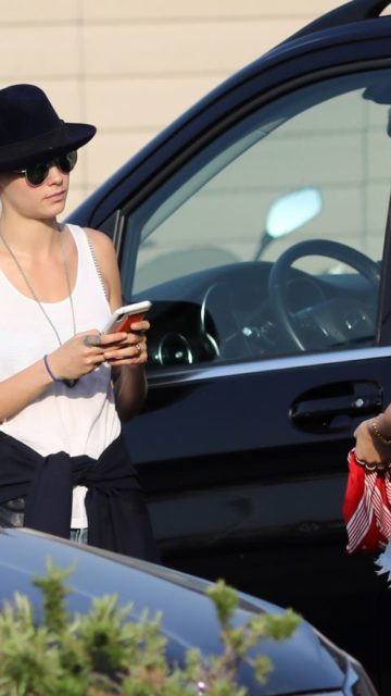 Ashley Benson and Cara Delevingne – Summer Vacation in Saint Tropez