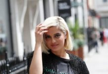 Bebe Rexha – Arrives at Kiss FM Studios in London