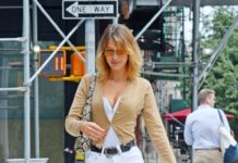 Bella Hadid Displays Her New Blonde Style – NYC