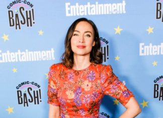 Courtney Ford – EW Comic Con Party in San Diego