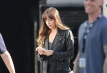 "Dakota Johnson – ""Covers"" Set in Los Angeles"