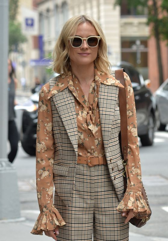 Diane Kruger – Visits the BUILD Series in NYC