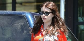 Emma Roberts – Grocery Shopping in Los Angeles