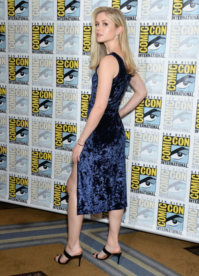 "Erin Moriarty – ""The Boys"" Photocall at SDCC 2019"