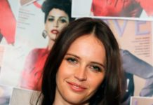 Felicity Jones – #MOVINGLOVE Dinner in London