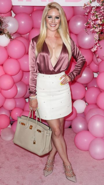 Heidi Montag – #BoobyTape USA Launch Party Pink Carpet in LA