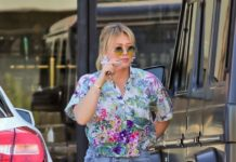 Hilary Duff – Out for Dinner in LA